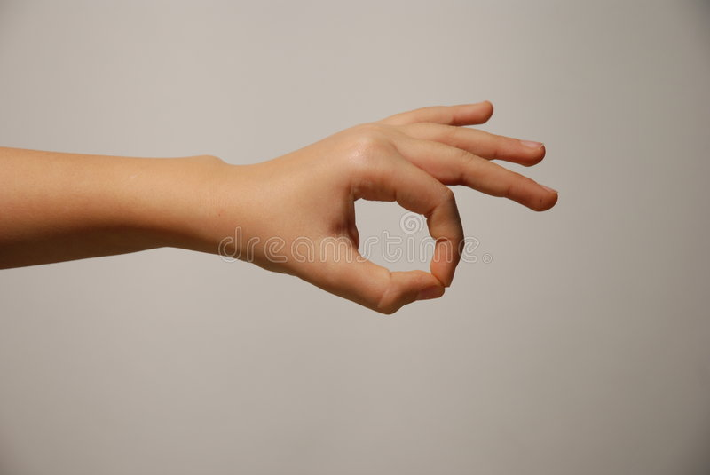 OK Hand Gesture Royalty Free Stock Photos