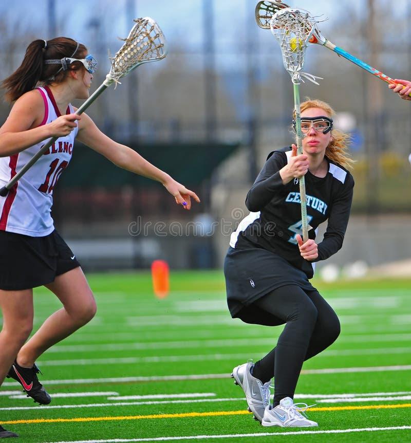 oka kontaktowy lacrosse zdjęcie royalty free