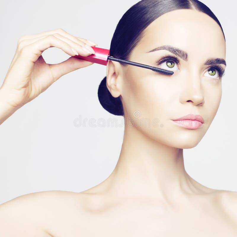 Oka Makeup fotografia stock