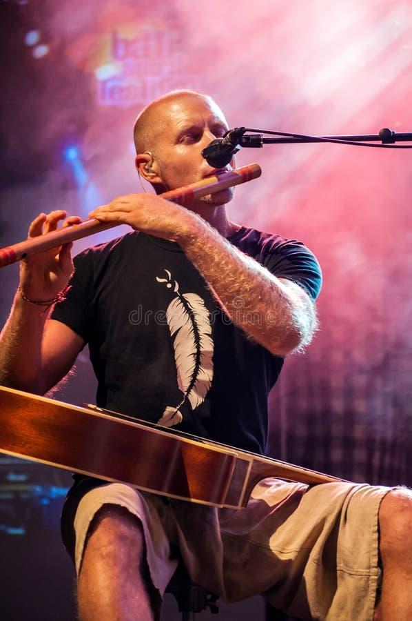 OKA outstanding performance in Bali Spirit Festiva stock images