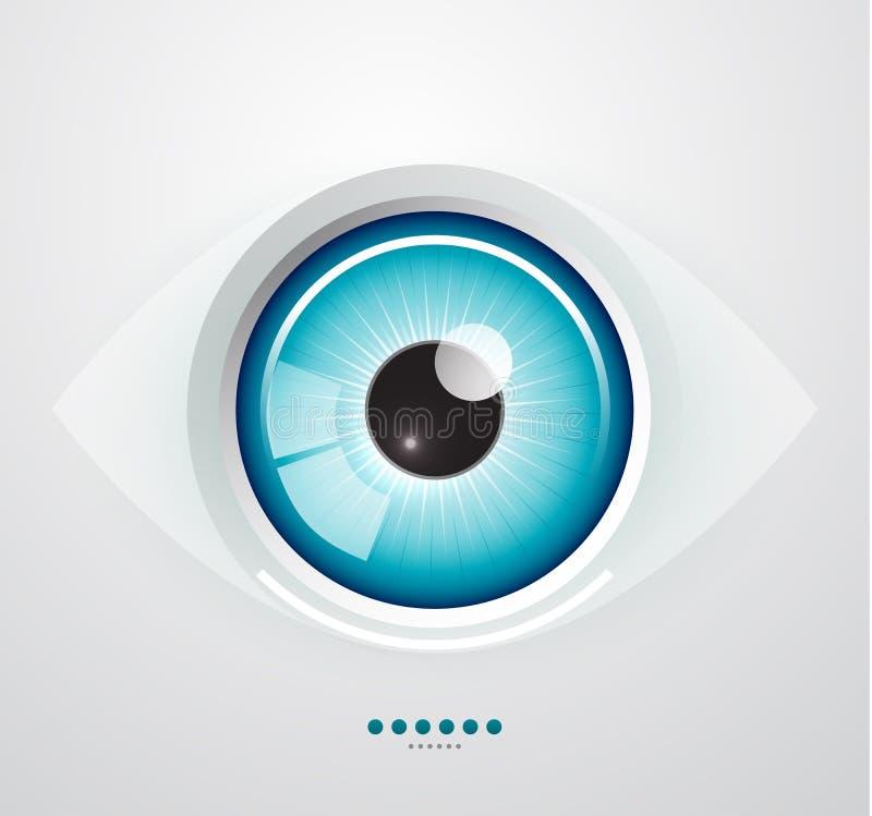 Oka tło ilustracji