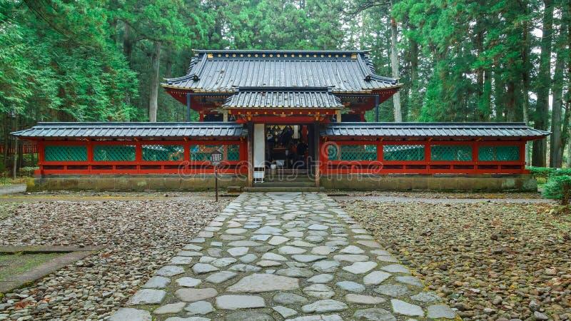 Okariden - tombeau provisoire au site de patrimoine mondial de Nikko à Nikko, Japon images libres de droits