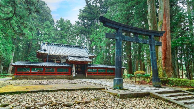 Okariden - tombeau provisoire au site de patrimoine mondial de Nikko à Nikko, Japon photos stock