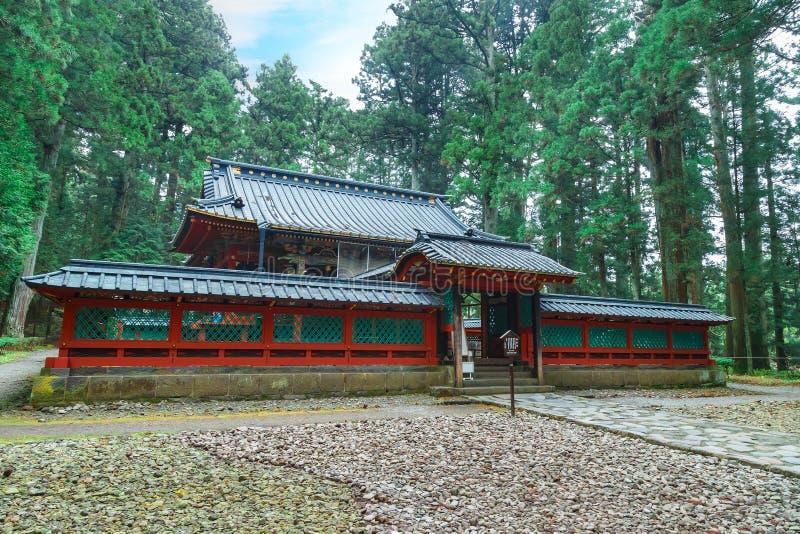 Okariden - tombeau provisoire au site de patrimoine mondial de Nikko à Nikko, Japon images stock