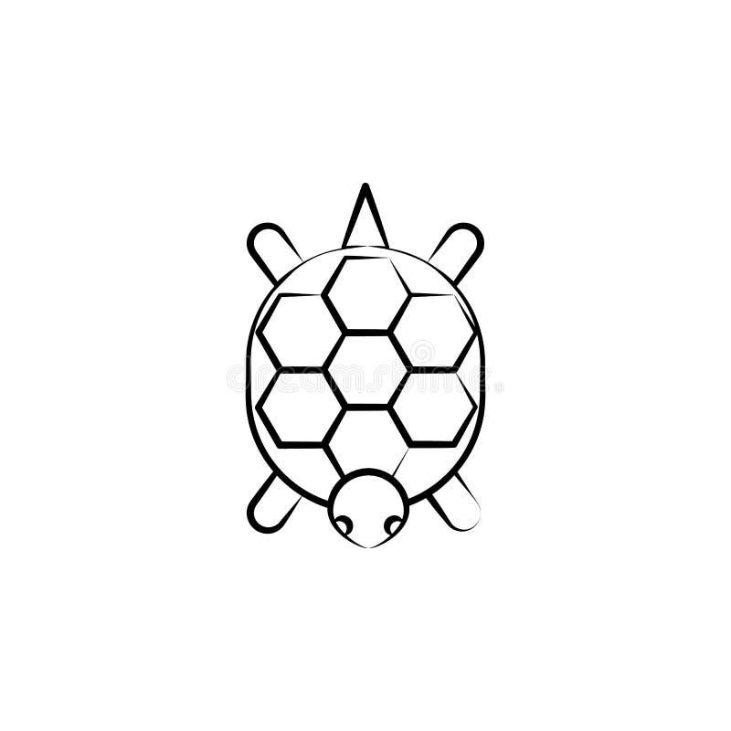 Okarinaikone Element von Ikone dia de Muertos für mobile Konzept und Netz Apps Handkann gezogene Okarinaikone für Netz und mobi b lizenzfreie abbildung