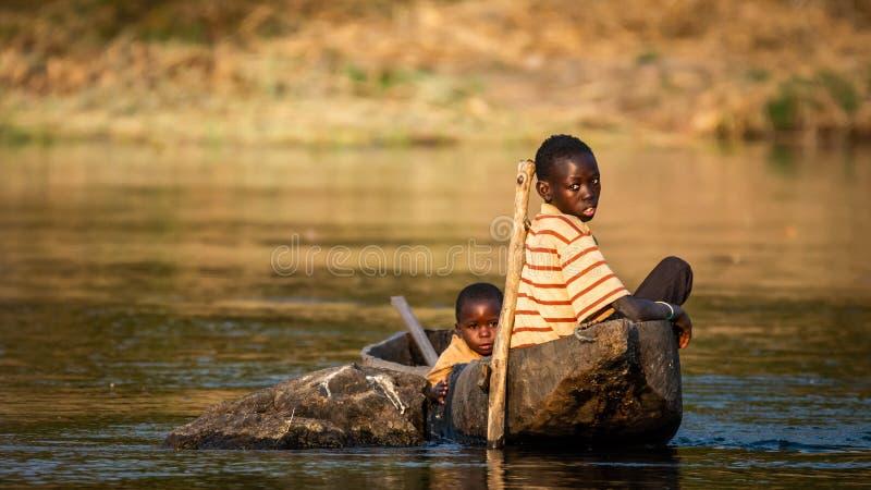 Okavango-Brüder lizenzfreies stockbild