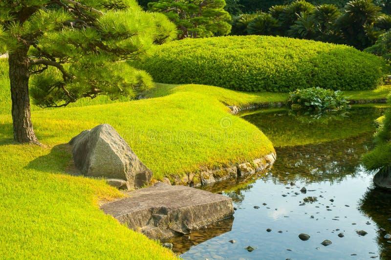 Okayama-Garten lizenzfreies stockbild