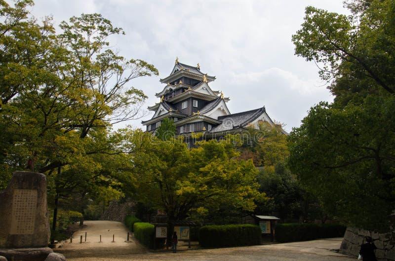 Okayama kasztel zdjęcie royalty free