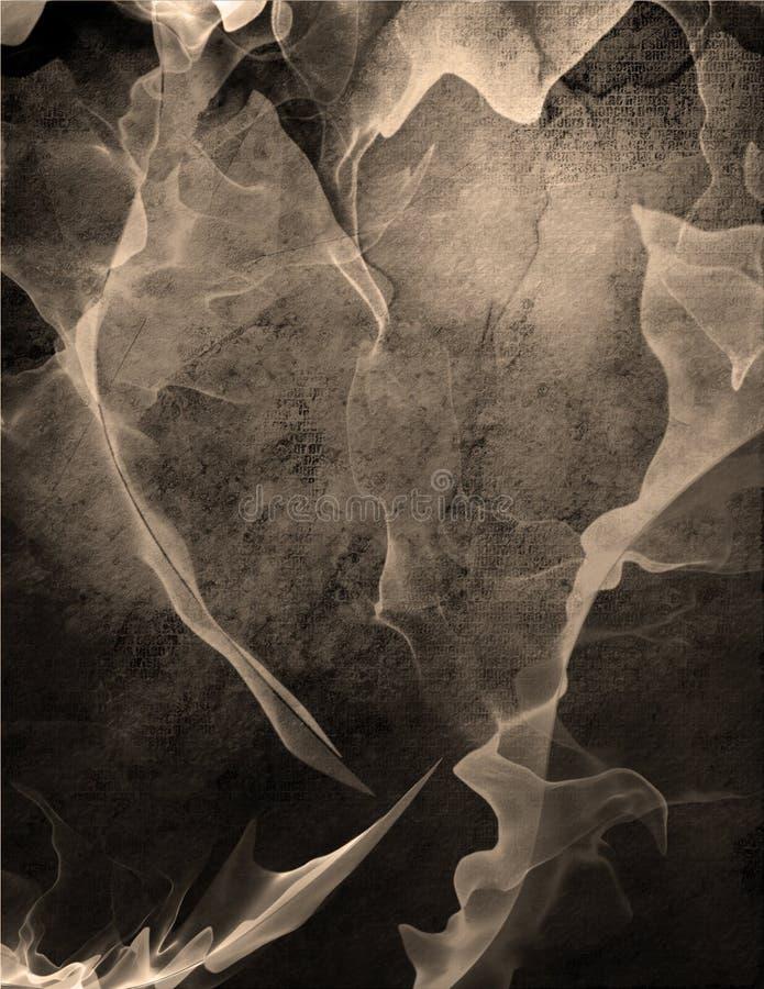 Okeefe like abstract vector illustration