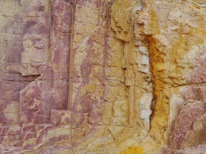 Okerkuilen in de West-Macdonnell Ranges royalty-vrije stock foto