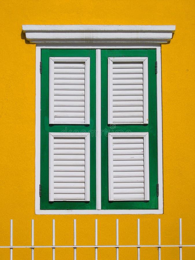 okiennice bonaire fotografia stock