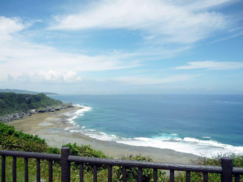 Okinawa Bay royalty free stock photo