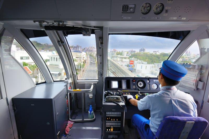 Okinawa Monorail imágenes de archivo libres de regalías