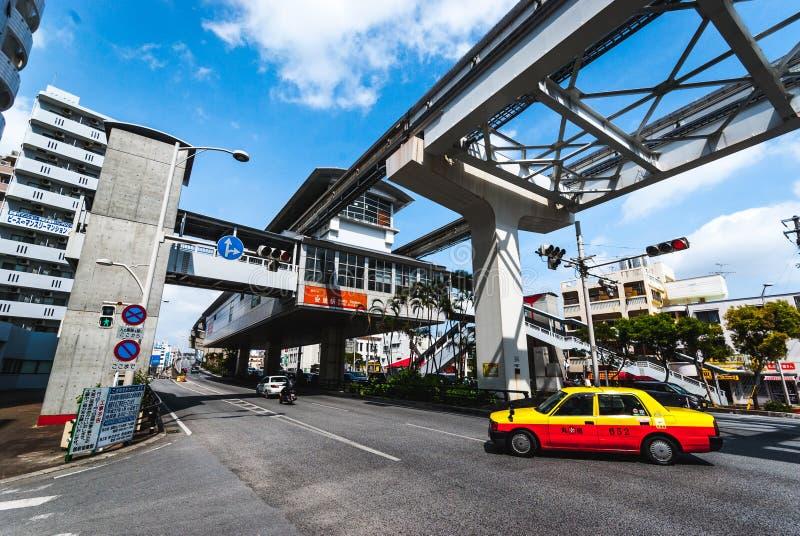 Okinawa Monorail royalty-vrije stock foto