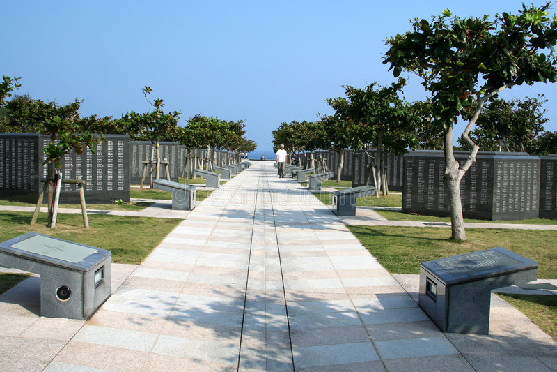 Okinawa Peace Memorial Park # stock photography