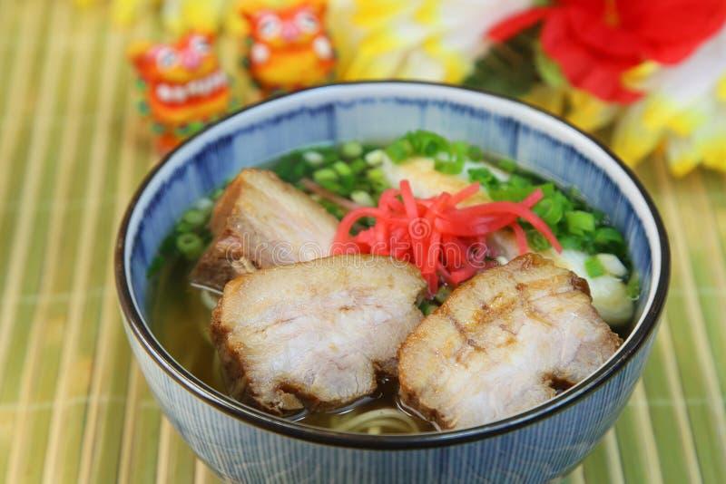 Okinawa Soba foto de stock royalty free