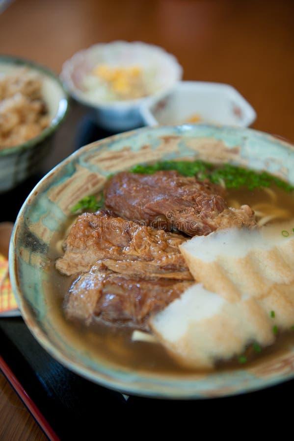 Okinawa soba lizenzfreies stockbild