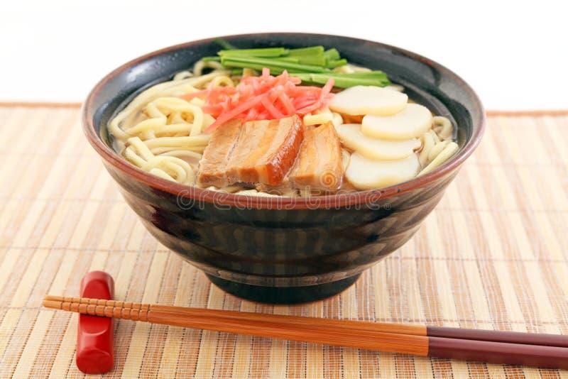 Okinawa Soba stock foto