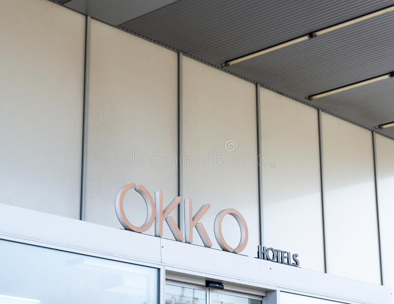 Okko Hotel in Bayonne, France stock photography