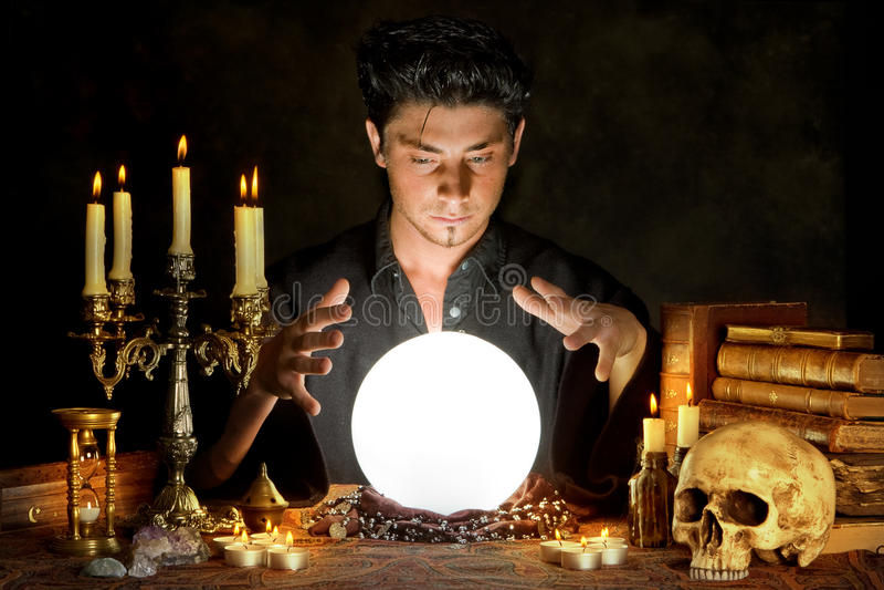 Okkultismus lizenzfreies stockbild