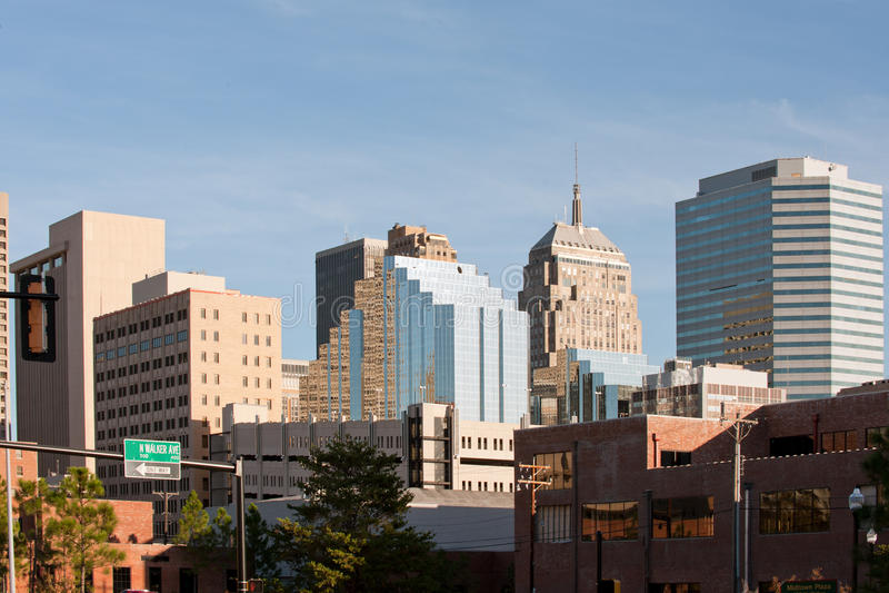 Oklahoma City fotografía de archivo libre de regalías