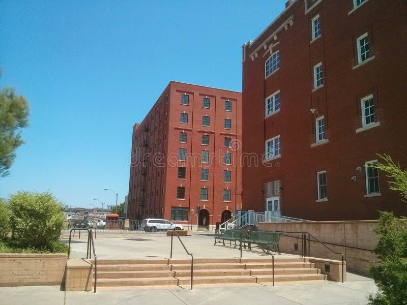 Oklahoma City del canal de Bricktown foto de archivo