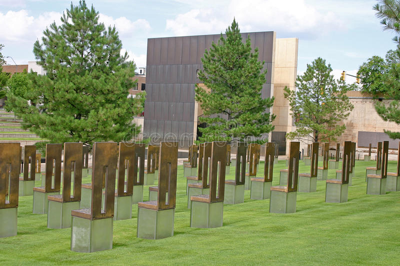 Download Oklahoma City Empty Chairs Memmorial Stock Photo - Image: 24598832