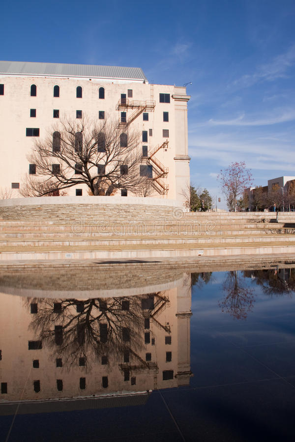 Download Oklahoma City Memorial stock image. Image of national - 28106981