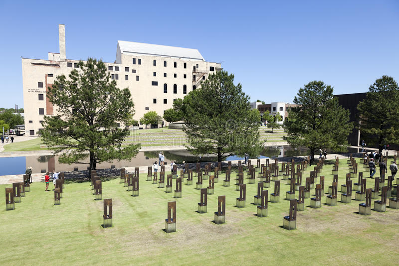 Download Oklahoma City National Memorial Editorial Photography - Image of modern, bombing: 24628437