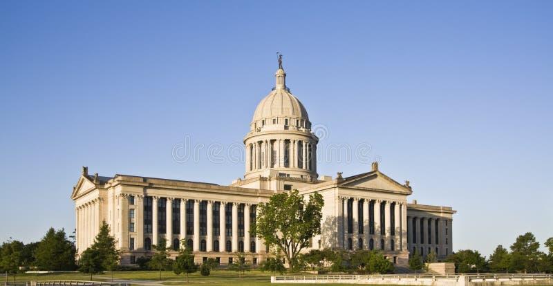 Oklahoma - condizione Campidoglio immagini stock
