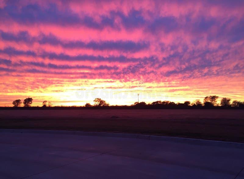 Oklahoma himmel royaltyfri foto