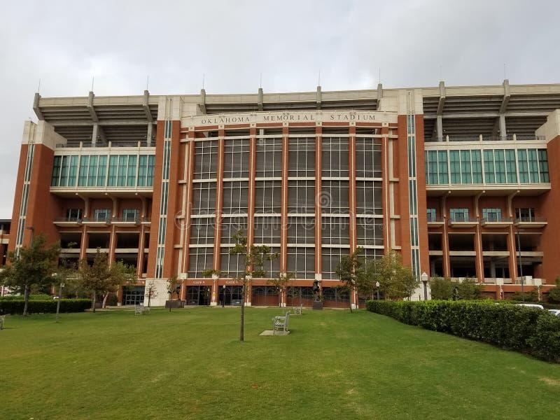 Oklahoma-Memorial Stadium stockfoto