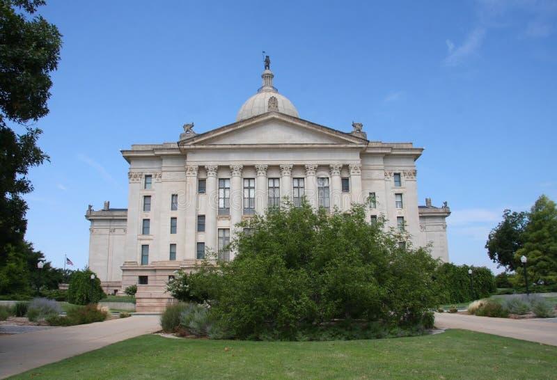 Oklahoma miasta stanu capitol fotografia royalty free