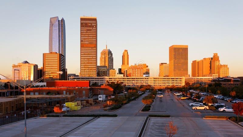 Oklahoma miasto zdjęcie stock