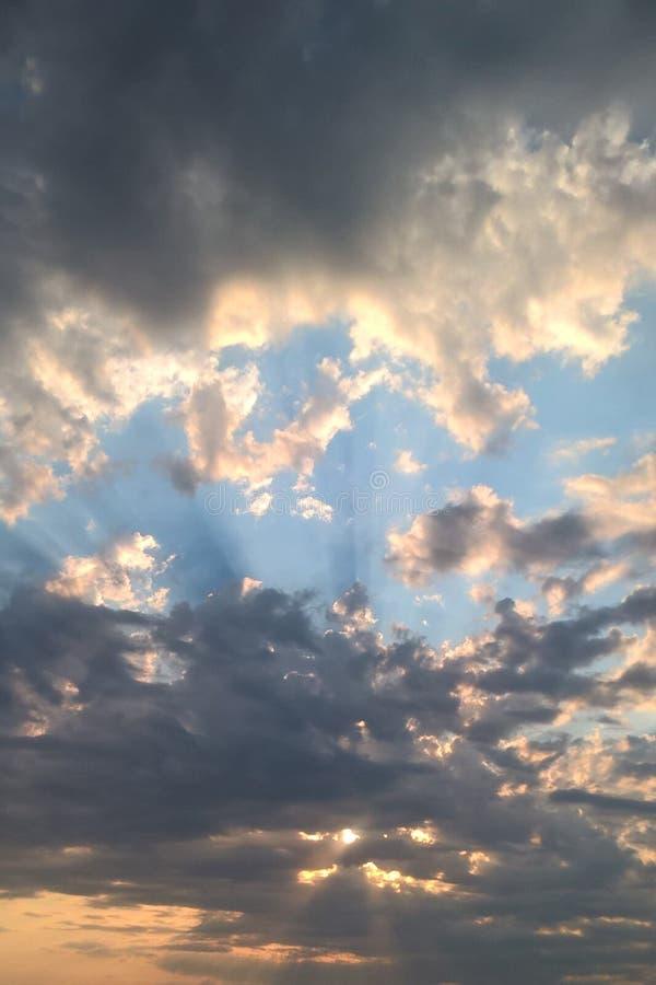 Oklahoma soluppgång royaltyfri fotografi