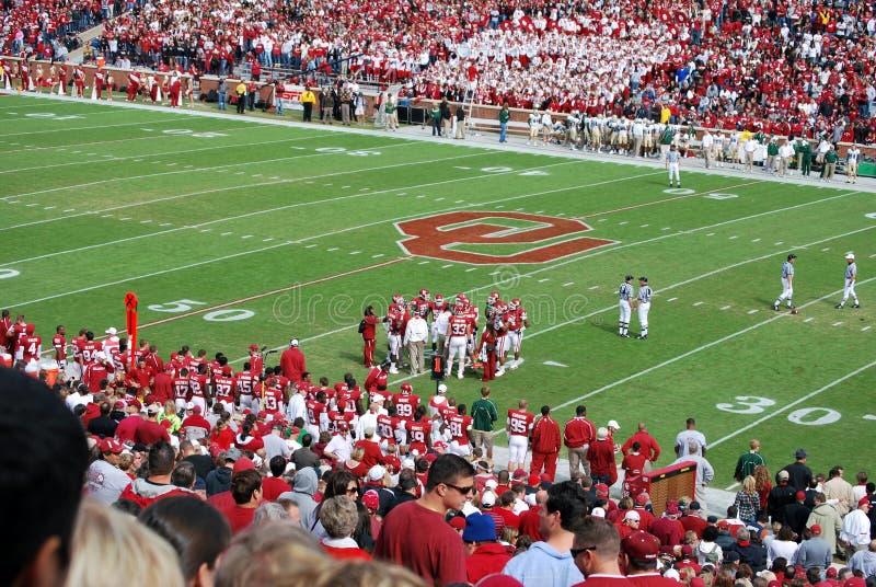 Oklahoma Sooner Football Editorial Image