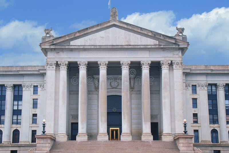 Oklahoma stan Capitol zdjęcie royalty free