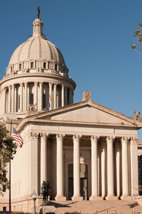 Oklahoma state capitol royalty free stock photo
