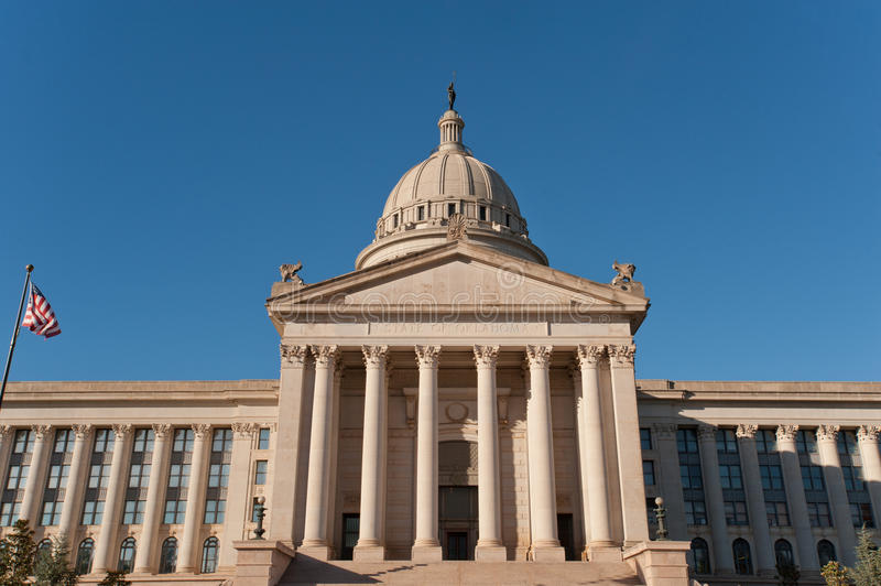 Oklahoma state capitol royalty free stock images