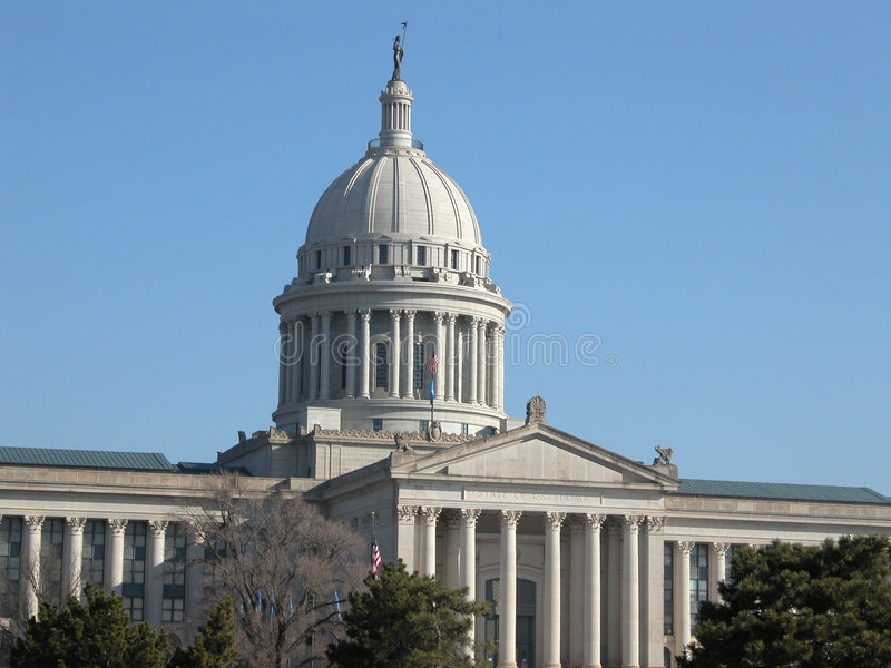 Oklahoma State Capitol Bldg stock photography