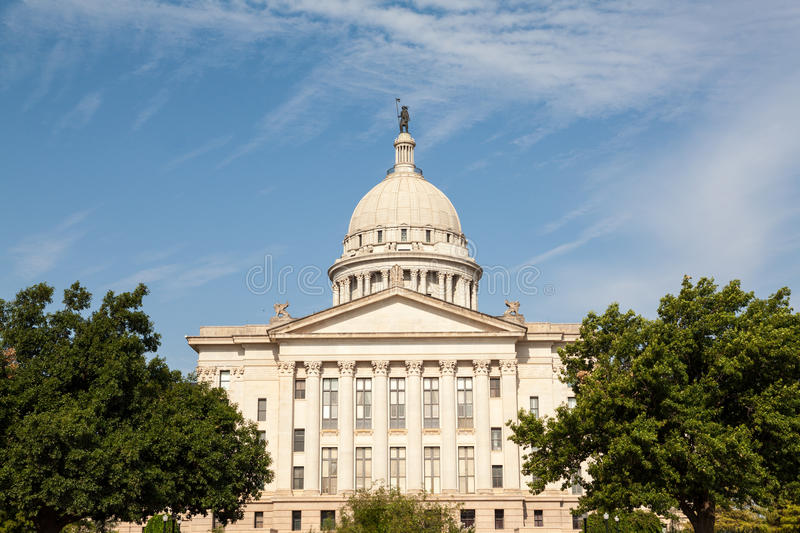 Download Oklahoma State House And Capitol Building Stock Image - Image of architecture, seal: 26312923