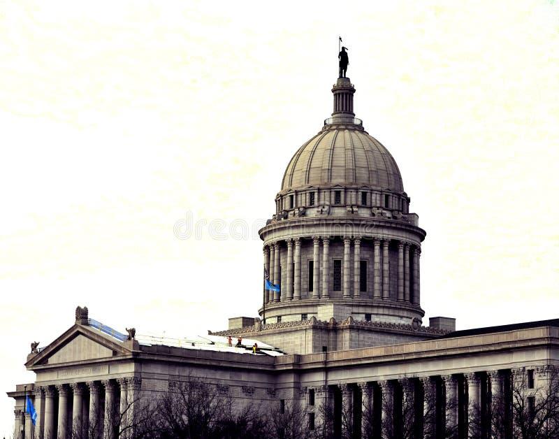 Oklahoma stolica kraju, Oklahoma City obraz stock