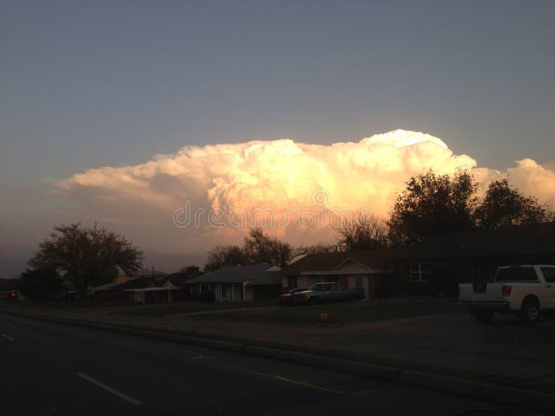 Oklahoma-Wolken lizenzfreie stockbilder