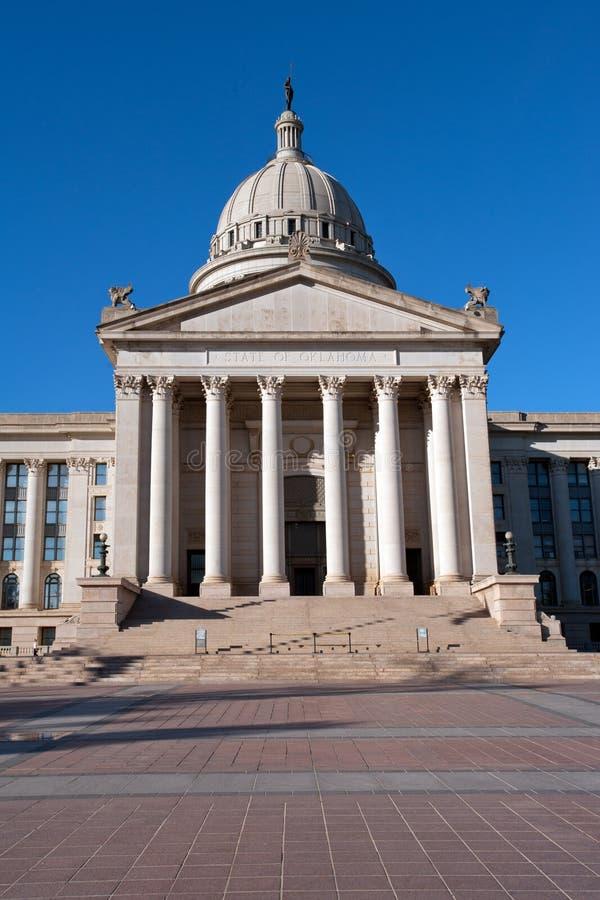 Oklahoma-Zustandkapitol stockfotos