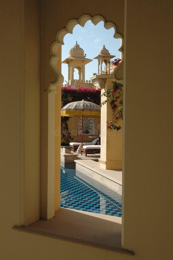 okna hotelu obrazy stock