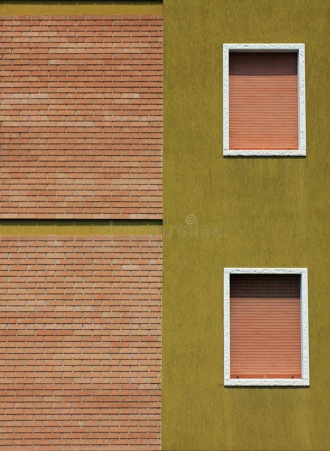 okno ścienne zdjęcia stock