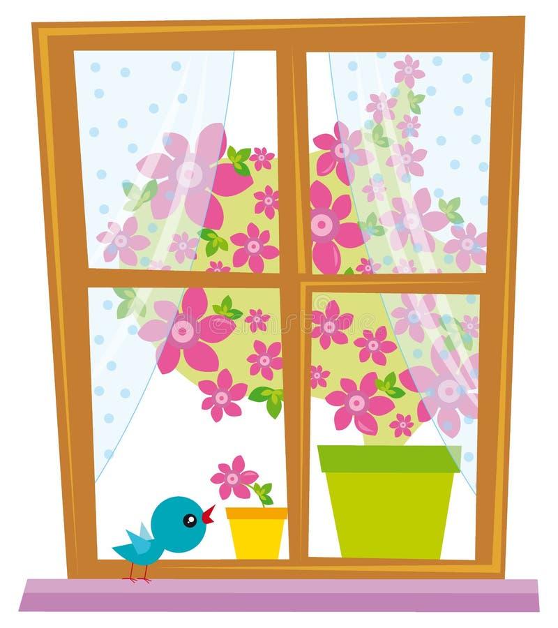 okno. ilustracji