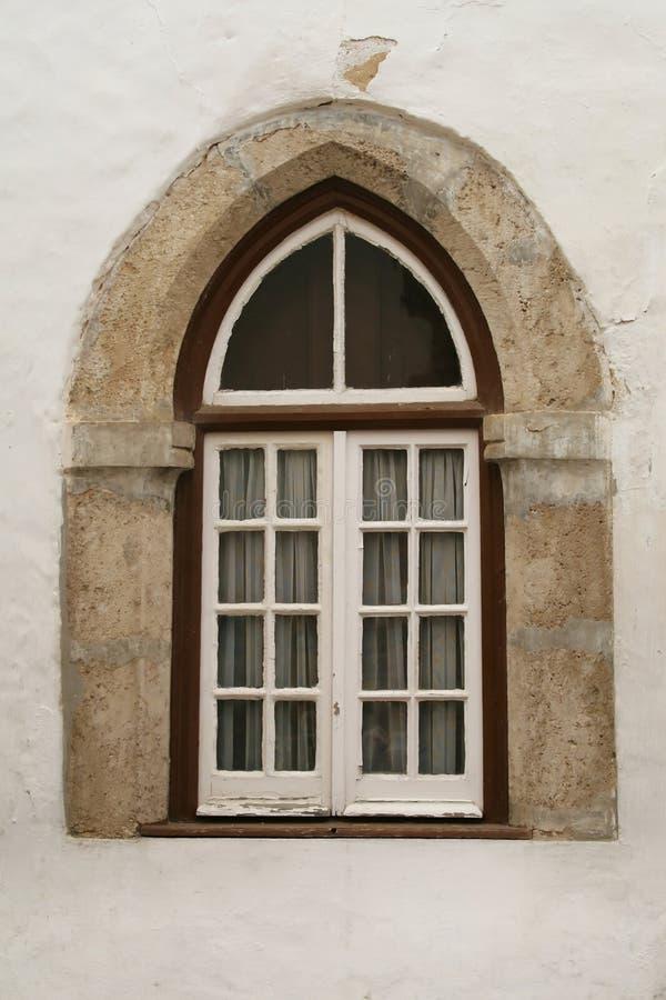 okno arabskiego zdjęcia stock