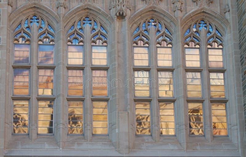okno gothic obrazy stock