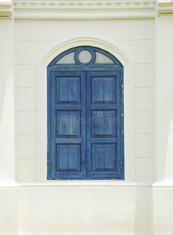 Okno i tapeta obraz stock